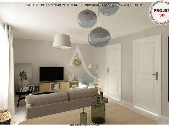 Vente appartement 3 pièces 54,18 m2