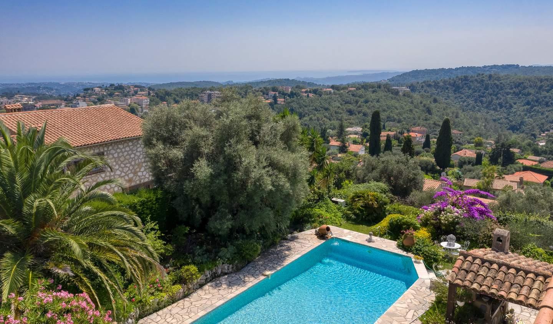 Propriété avec piscine et jardin Vence
