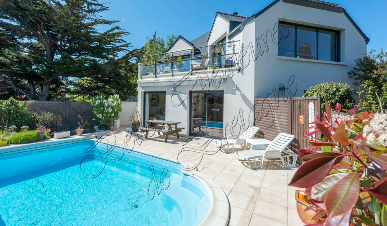 House with pool Etables-sur-Mer