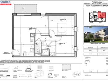 Appartement 3 pièces 54,5 m2