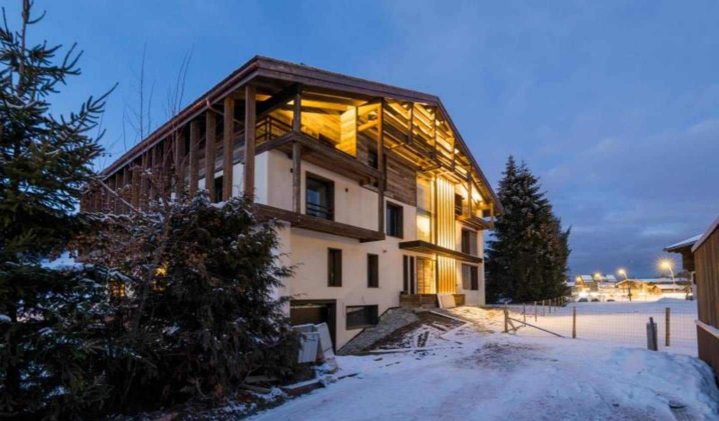 Apartment with terrace Megeve