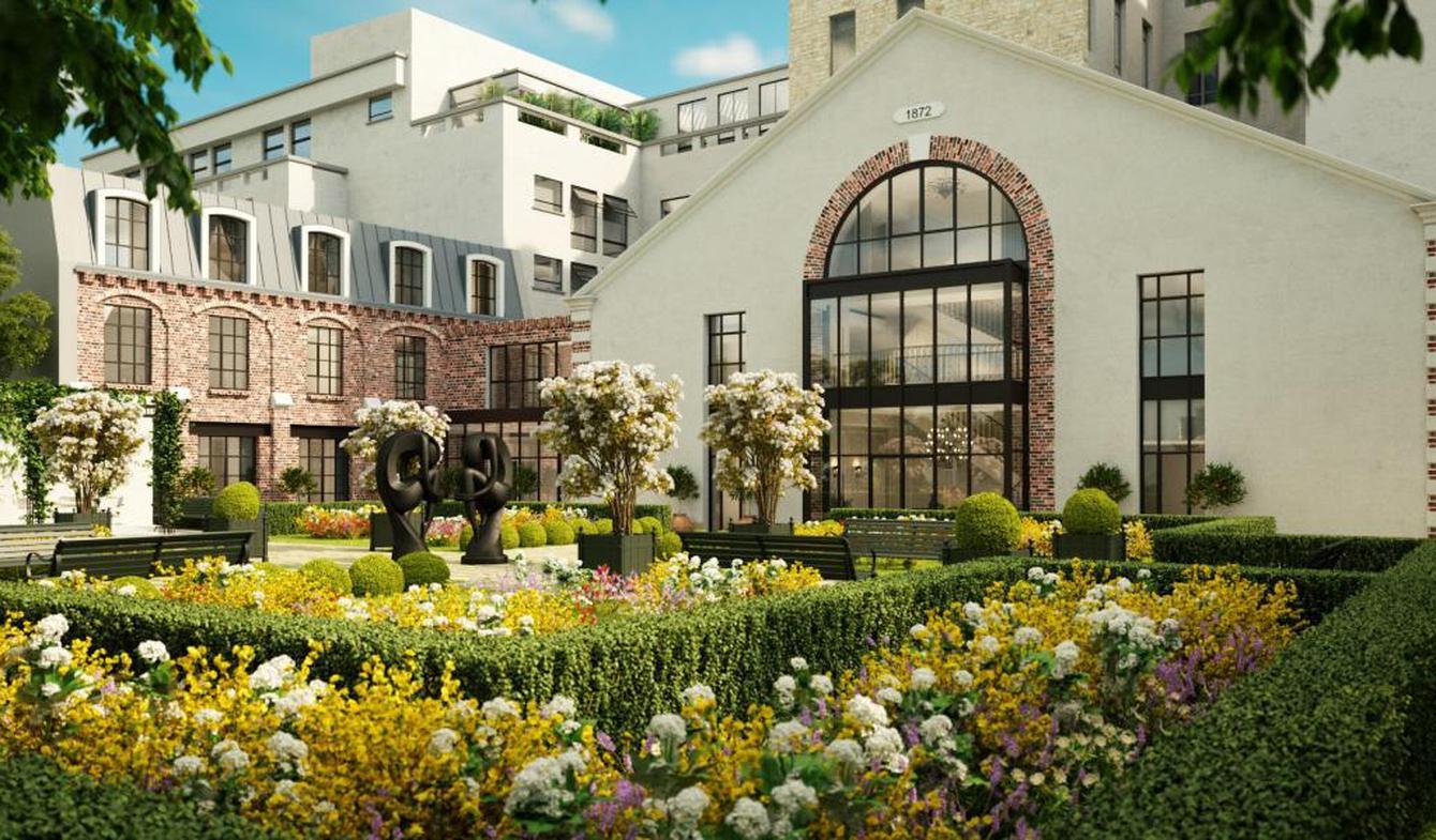 Hôtel particulier avec jardin Paris 7ème