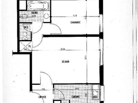 Vente divers 2 pièces 46,24 m2