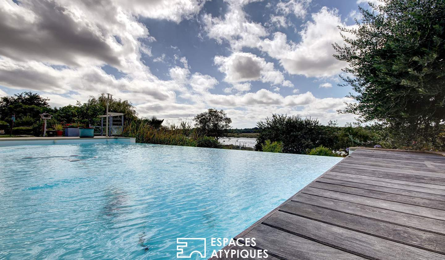 House with pool Vannes