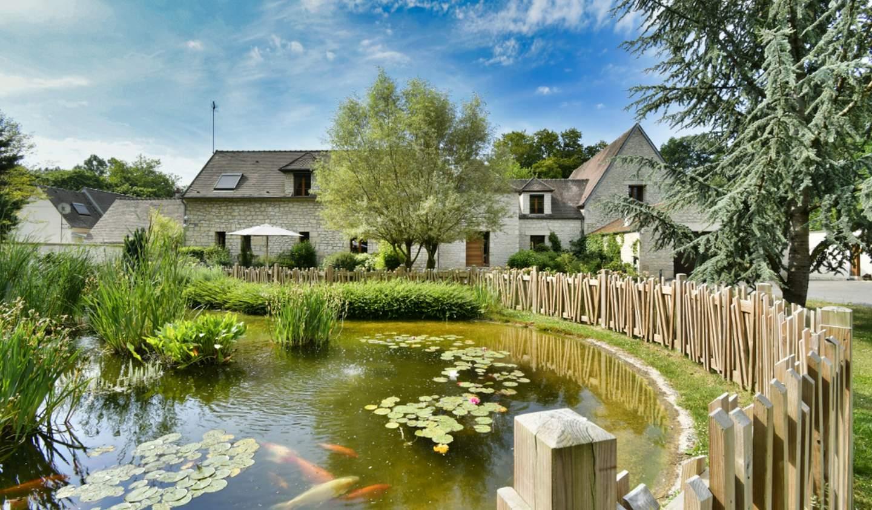 Maison avec piscine et terrasse Senlis