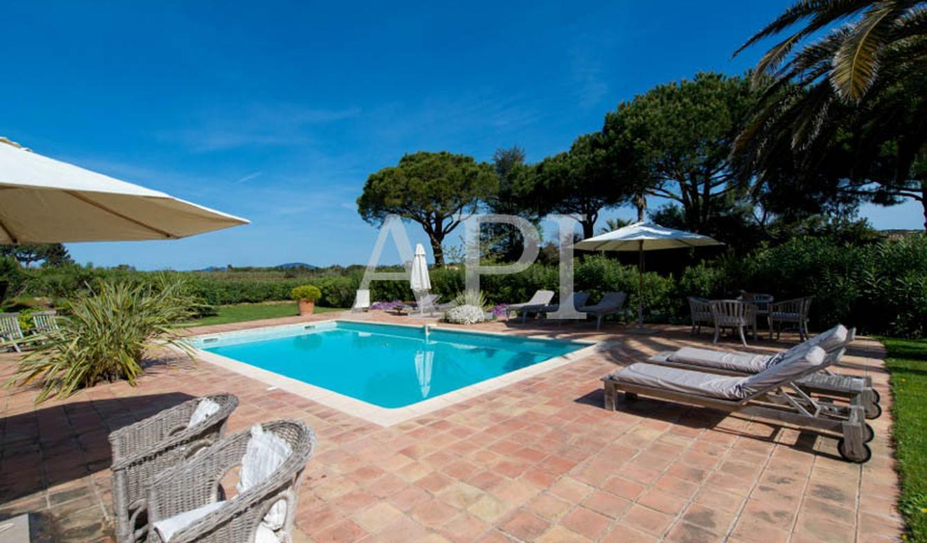 Seaside house with pool Saint-Tropez