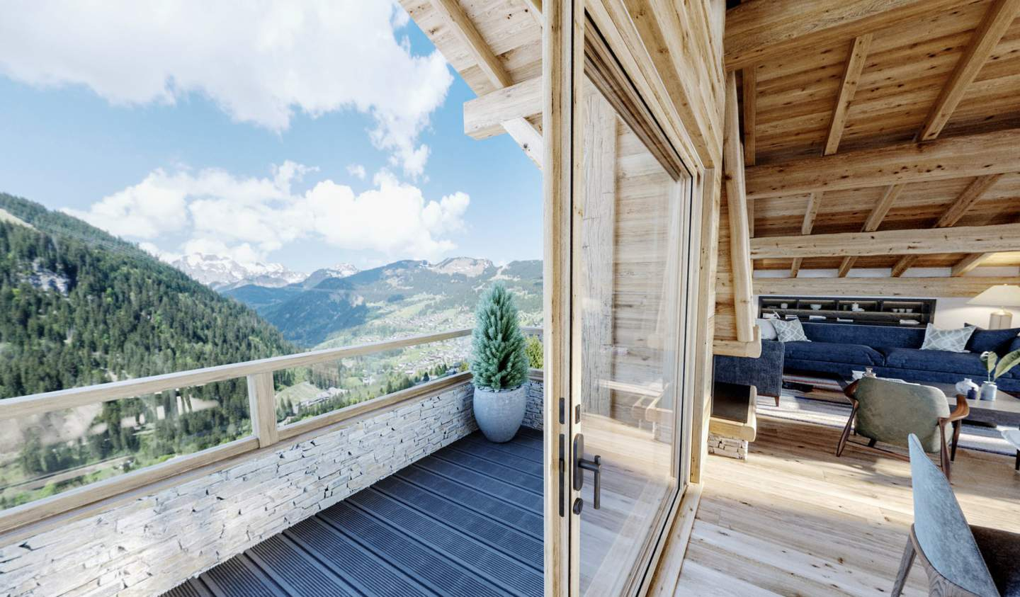 Chalet with terrace Chatel