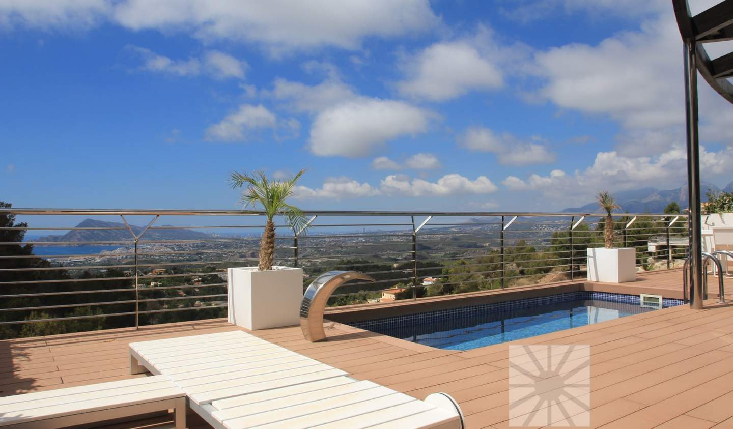 Villa with pool and terrace Altea
