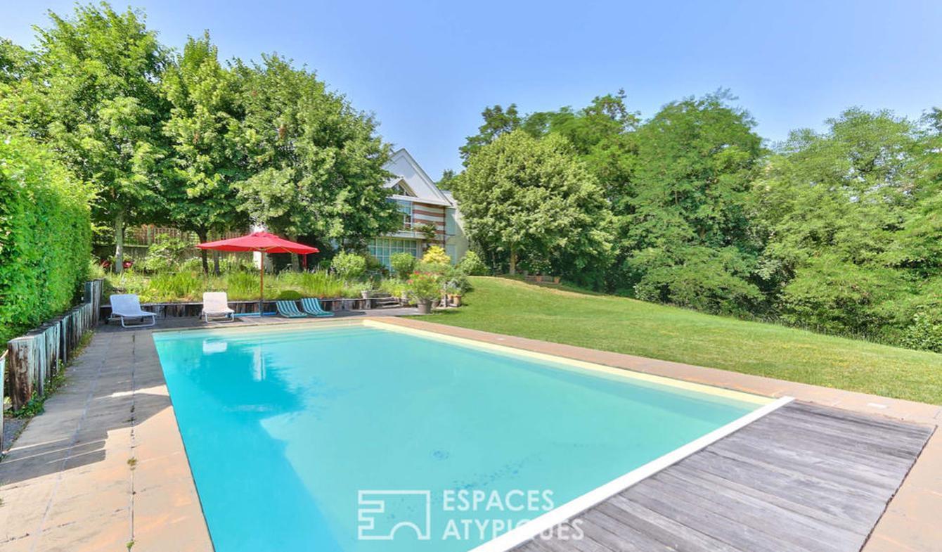 Maison avec piscine Pocé-sur-Cisse