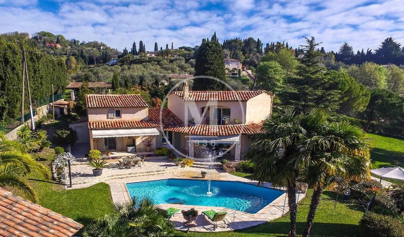 Villa avec piscine et terrasse Grasse
