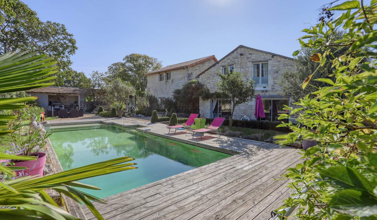 House with pool Chinon