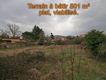 Terrain 501 m2