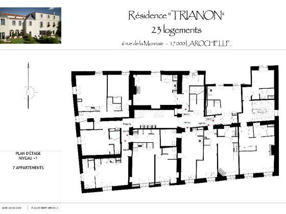 Vente studio 29,92 m2