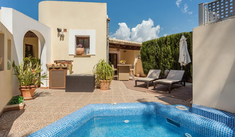 Seaside house and garden Majorca