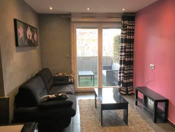 Appartement meublé 2 pièces 33,6 m2