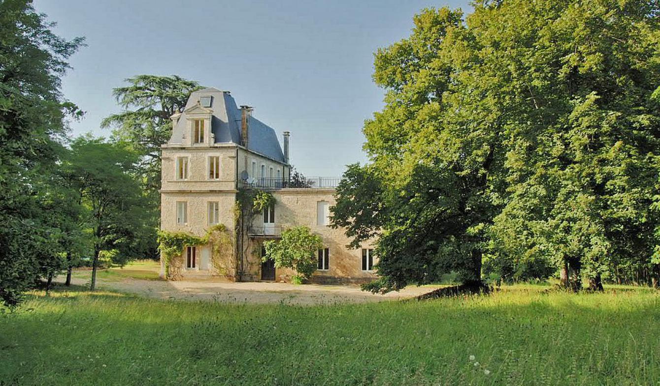 Castle Labastide-Murat