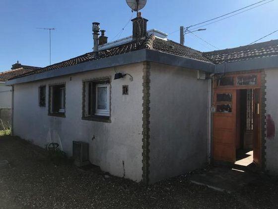 Vente maison 3 pièces 58,75 m2