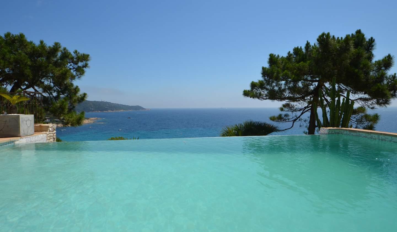 Villa avec piscine en bord de mer Ramatuelle