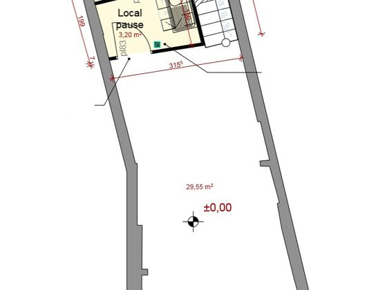 Location divers 85 m2