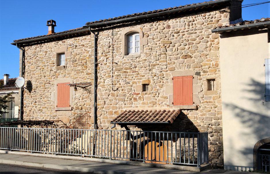 Vente maison 6 pièces 152 m² à Chambonas (07140), 127 000 €