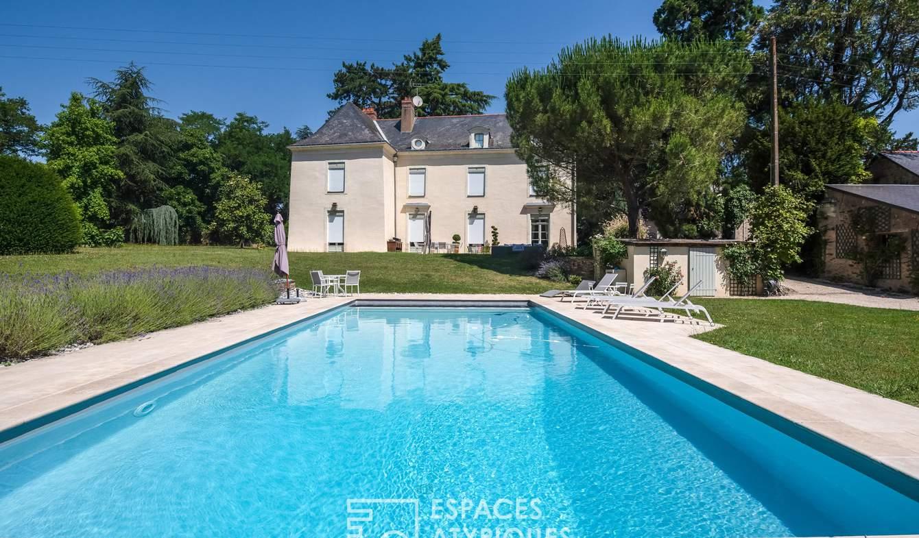 Maison avec piscine Saint-clement-de-la-place