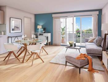 Appartement 3 pièces 61,56 m2