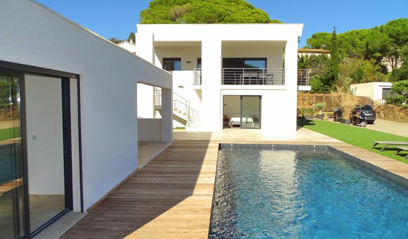 Villa with pool and terrace Les issambres