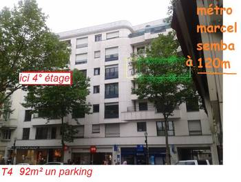 Appartement meublé 4 pièces 93 m2