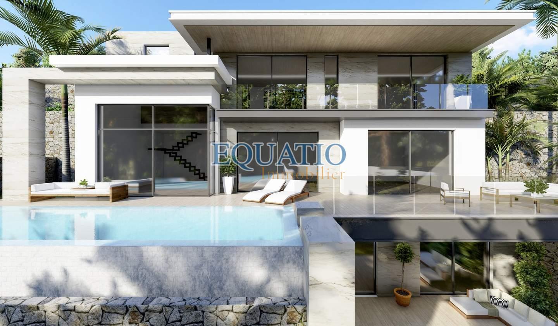 Villa avec piscine et terrasse Moraira