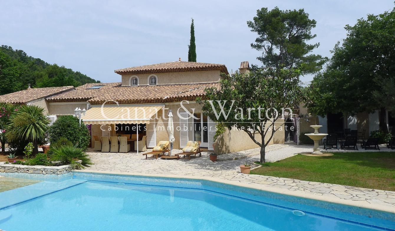 Villa avec piscine et terrasse Solliès-Ville