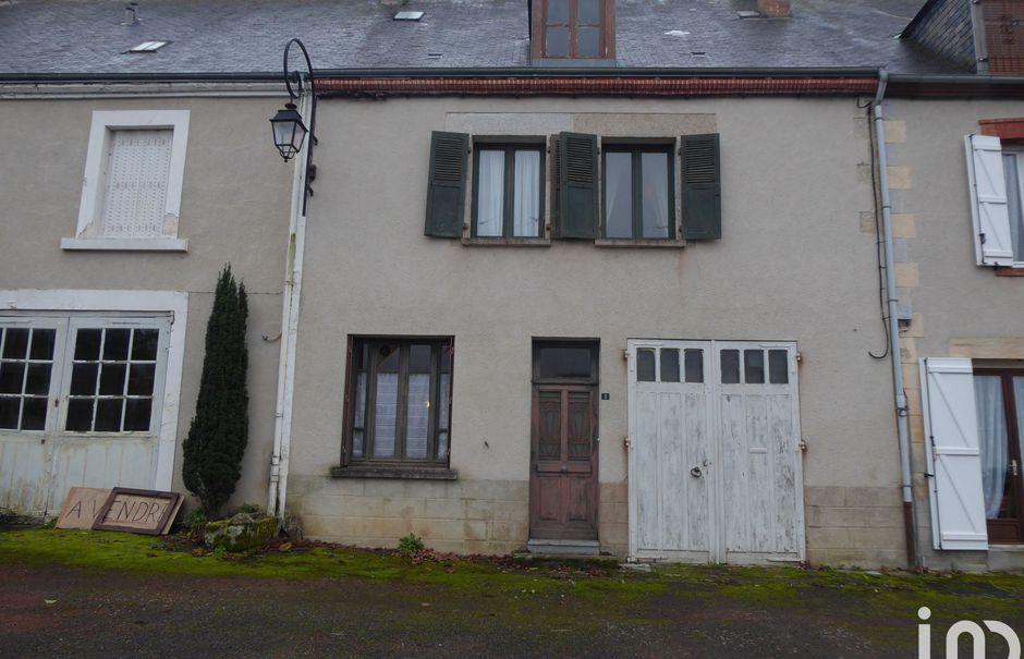 Vente maison 4 pièces 120 m² à Châtelus-Malvaleix (23270), 54 500 €