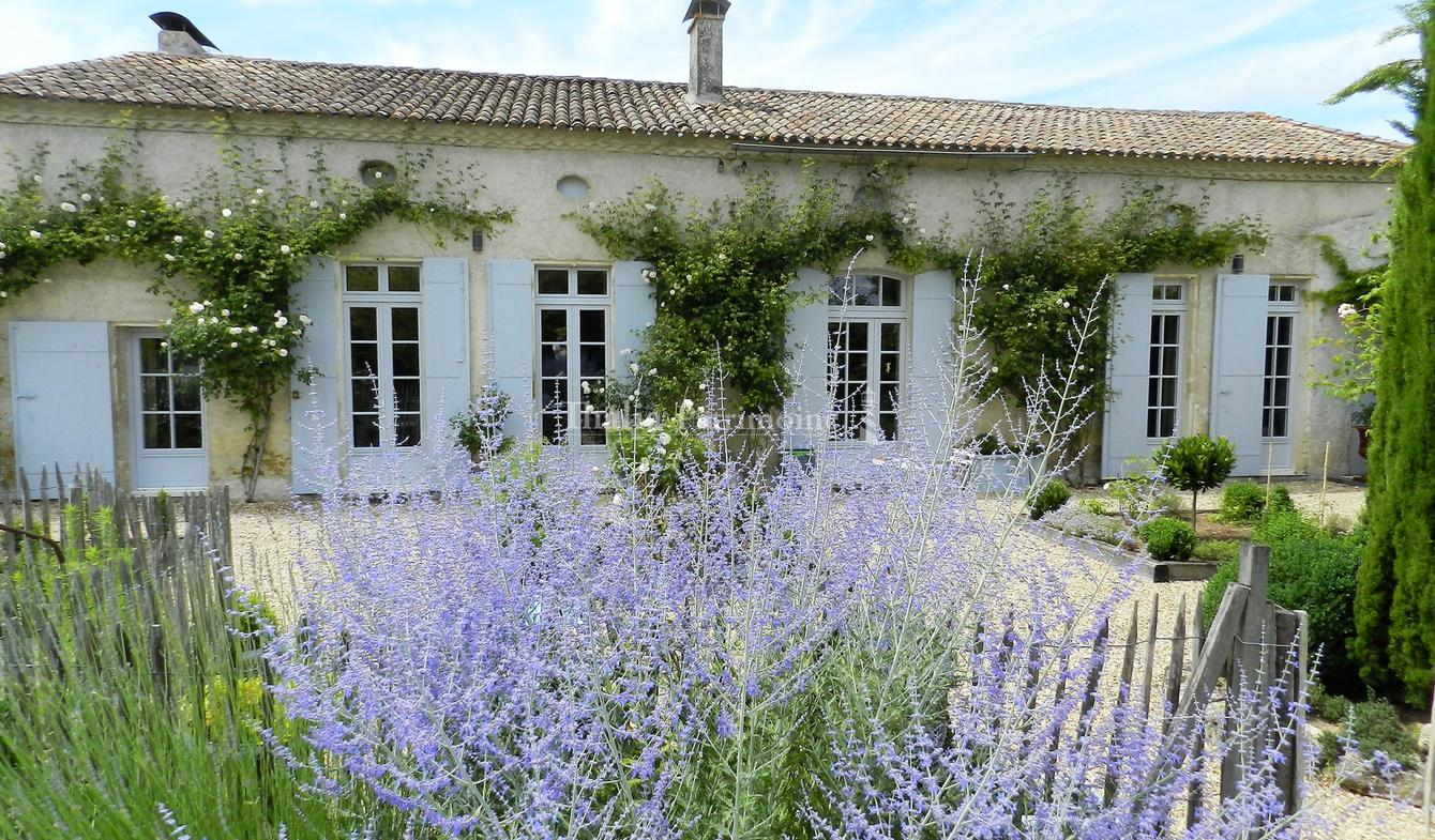 House with pool and terrace Bordeaux