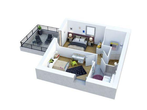 Vente appartement 3 pièces 70,85 m2