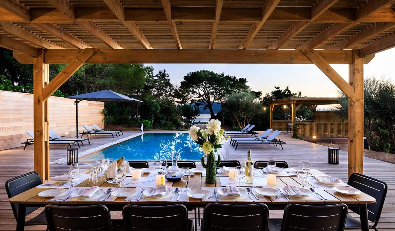 Villa avec piscine et jardin Propriano