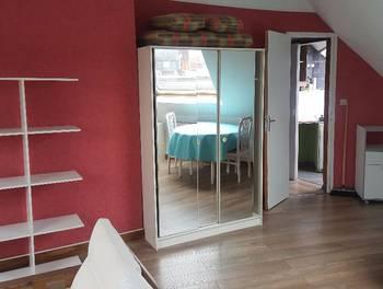 Studio meublé 21,86 m2