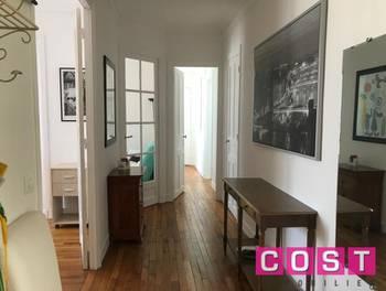 Appartement meublé 2 pièces 62,5 m2