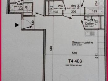 Appartement 5 pièces 87,3 m2