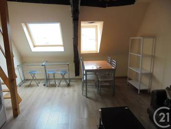 Appartement meublé 2 pièces 24,89 m2