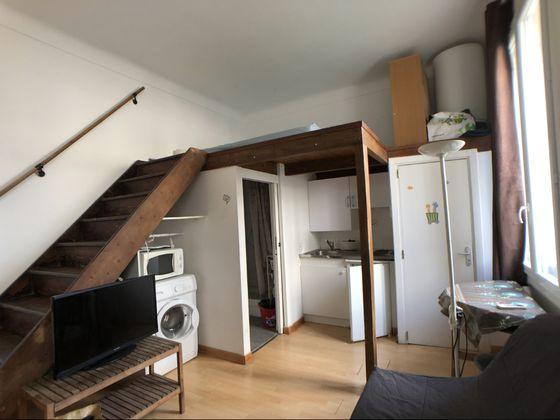 Location studio meublé 21 m2