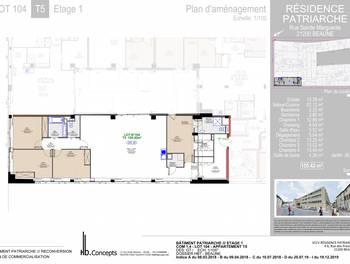 Appartement 5 pièces 155,42 m2