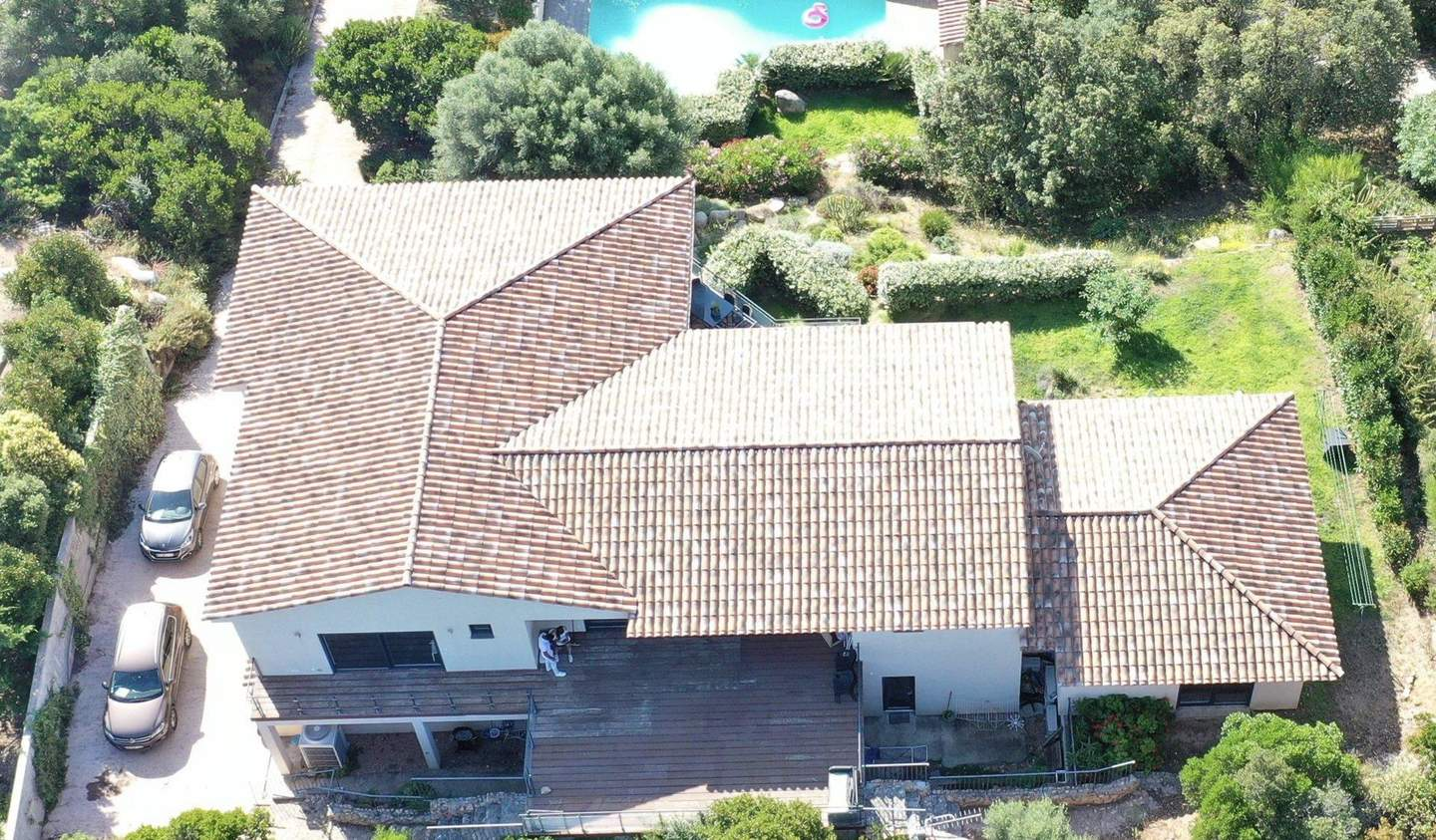 Villa with pool and terrace Porto-Vecchio