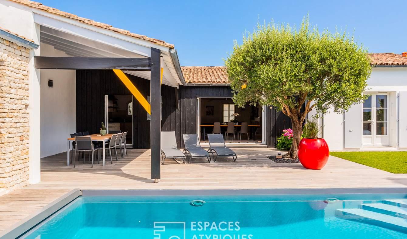 Maison avec piscine La Flotte