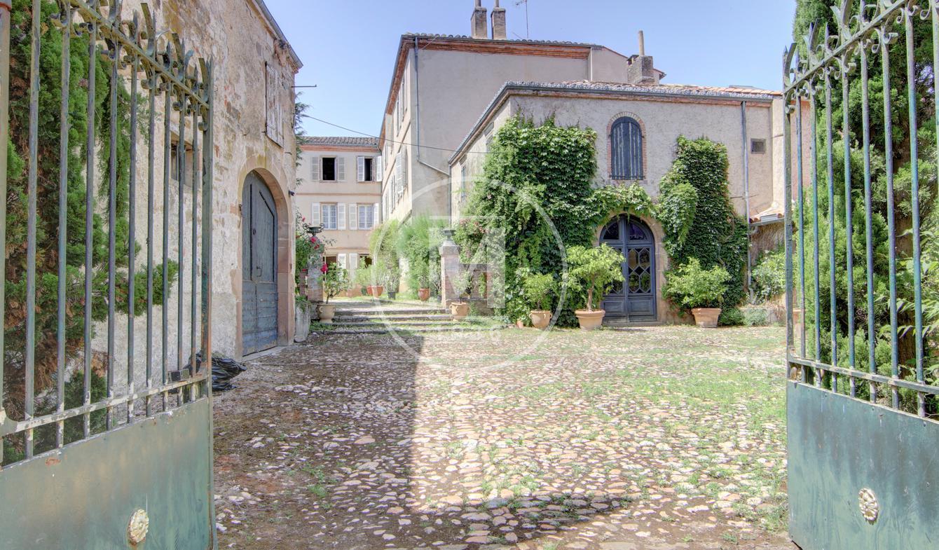 Maison avec terrasse Monestiés
