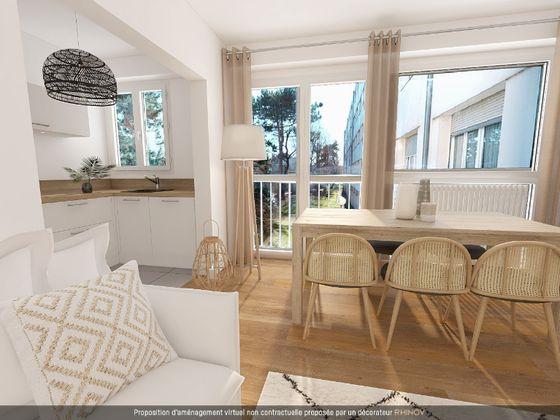Vente appartement 2 pièces 43,74 m2