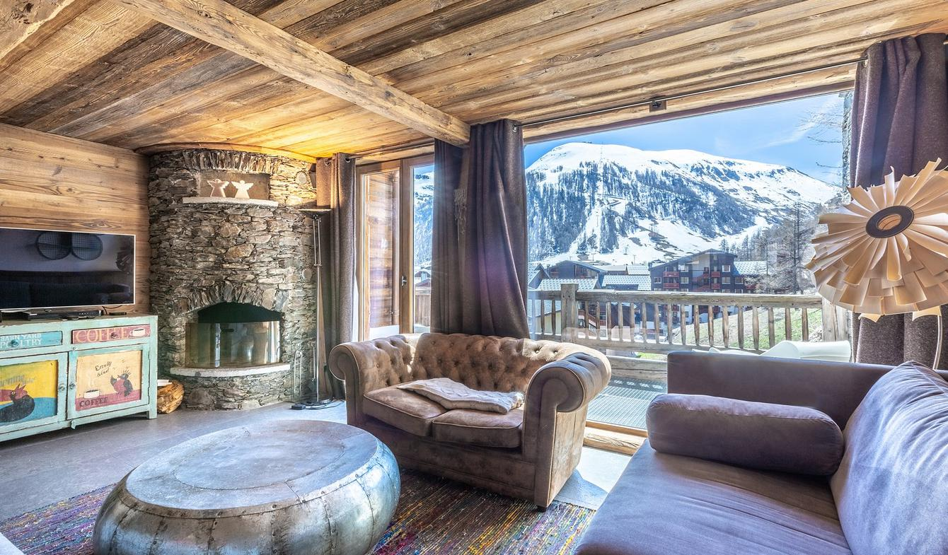 Chalet with panoramic view Val-d'isere