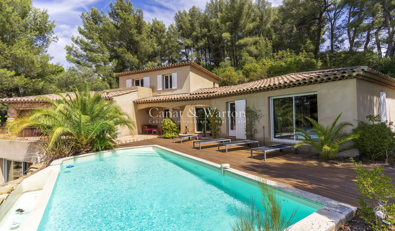 Villa with pool Le Castellet