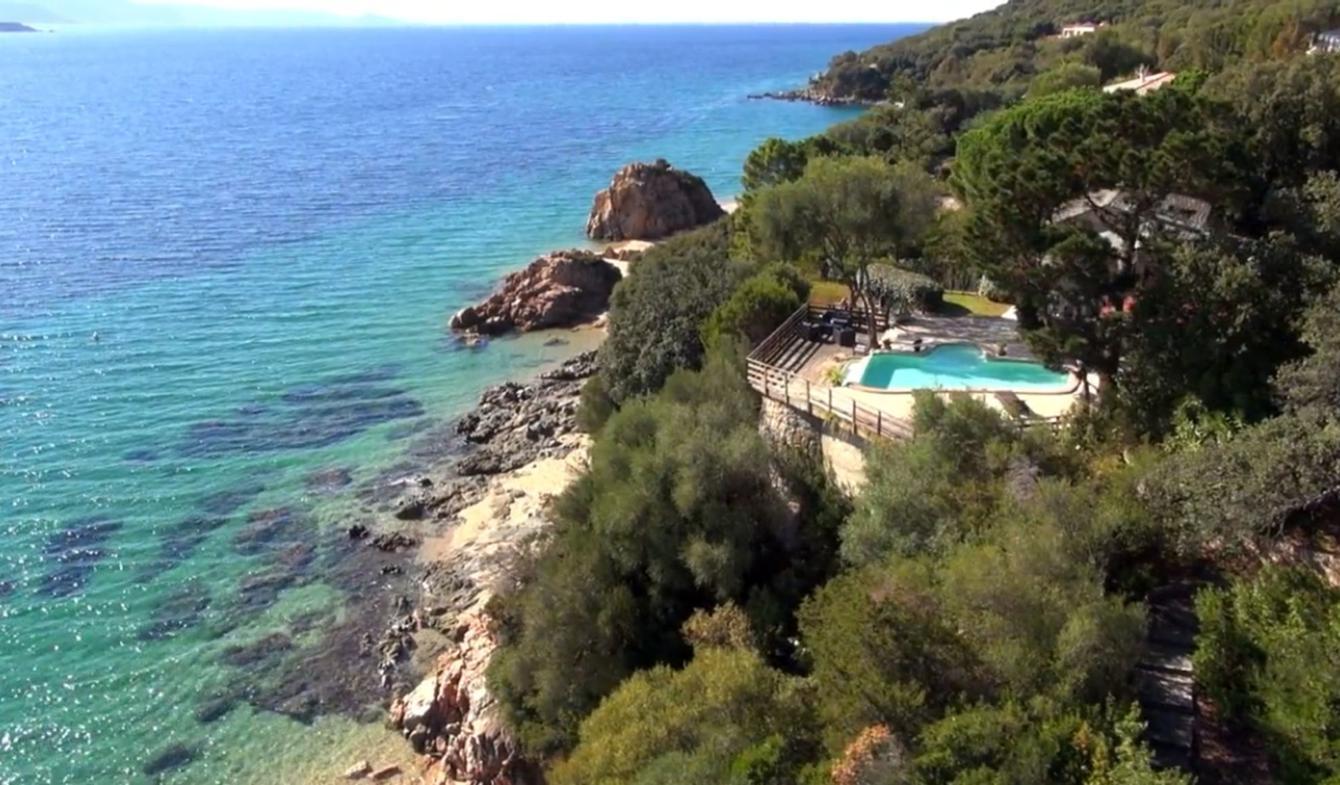 Maison avec piscine en bord de mer Propriano