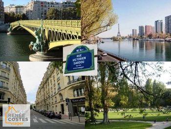 viager à Paris 16ème (75)