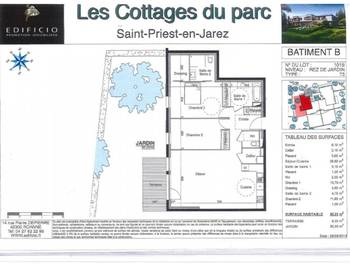 Appartement 3 pièces 88,25 m2