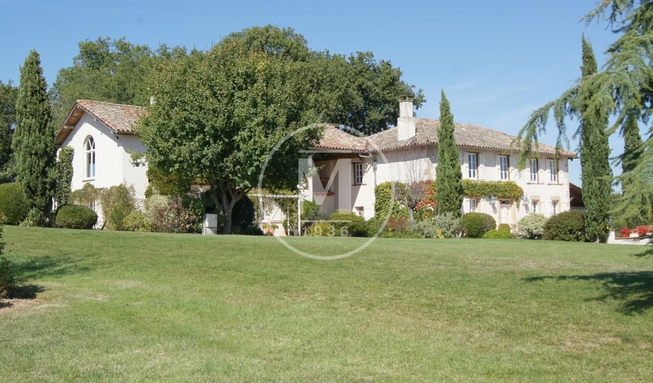 Maison avec piscine et terrasse Puymaurin